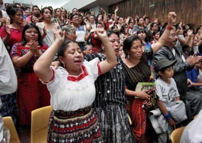 Cheering at Verdict
